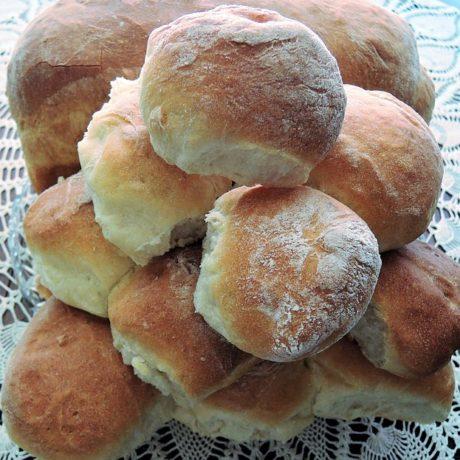 Petits pains à la machine à pain