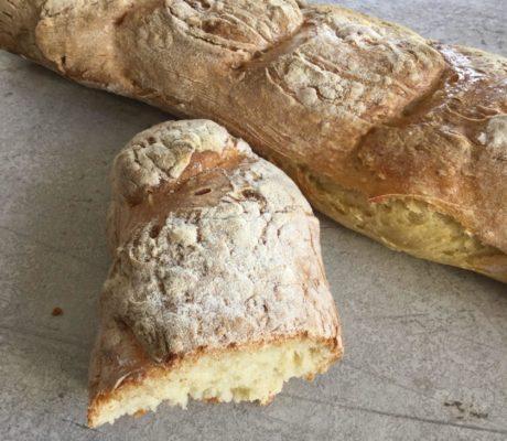 Baguettes de pain faciles express sans pétrissage
